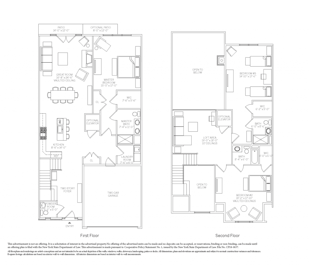 The Derby townhome floorplan at Kensington Estates in Woodbury. Call for availability!